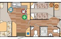 example of 8 berth layout